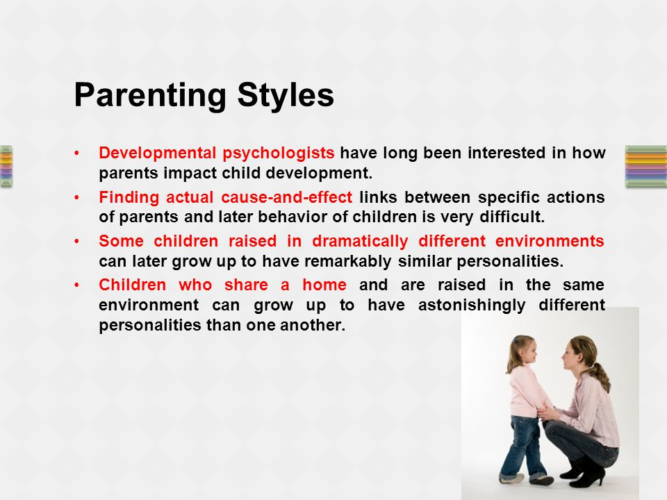 impact of parenting styles a review How your parenting style affects your child's  project professor nishimura's group aimed to discover the effects of parenting  awards & reviews.