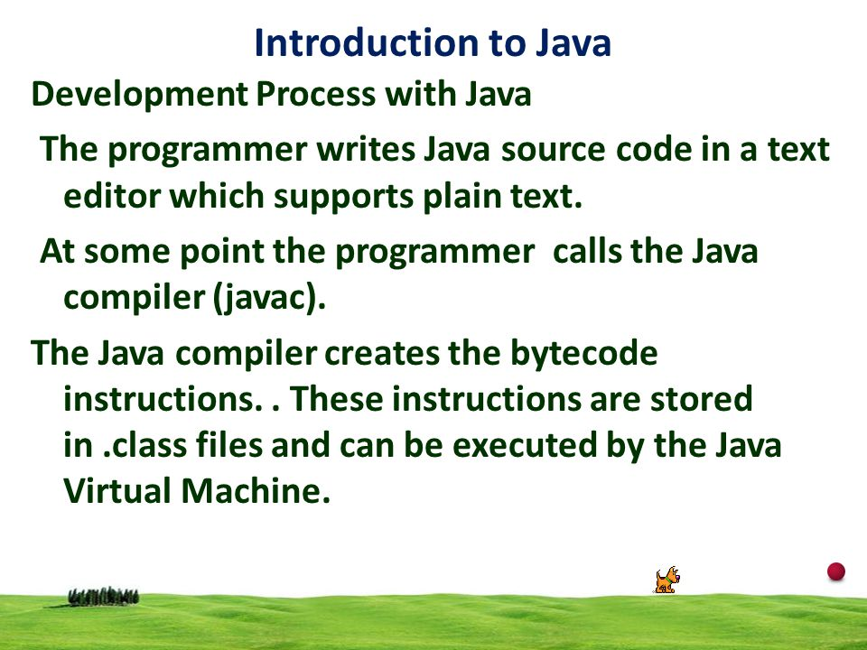 Introduction to Java Development Process with Java
