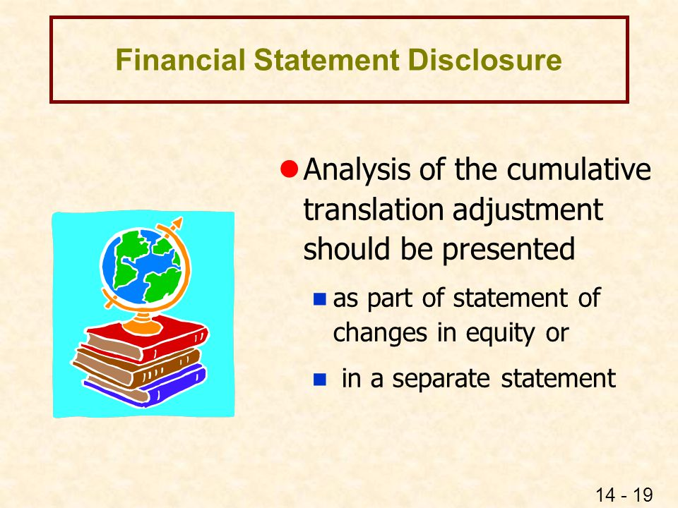 Financial Statement Disclosure