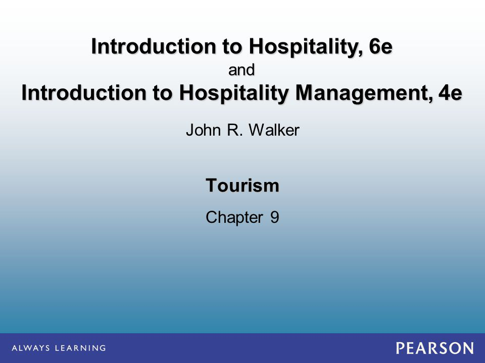 Introduction to hospitality 6e ppt video online download introduction to hospitality 6e fandeluxe Choice Image