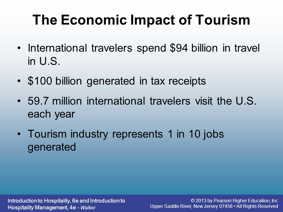 impact of tourism in education