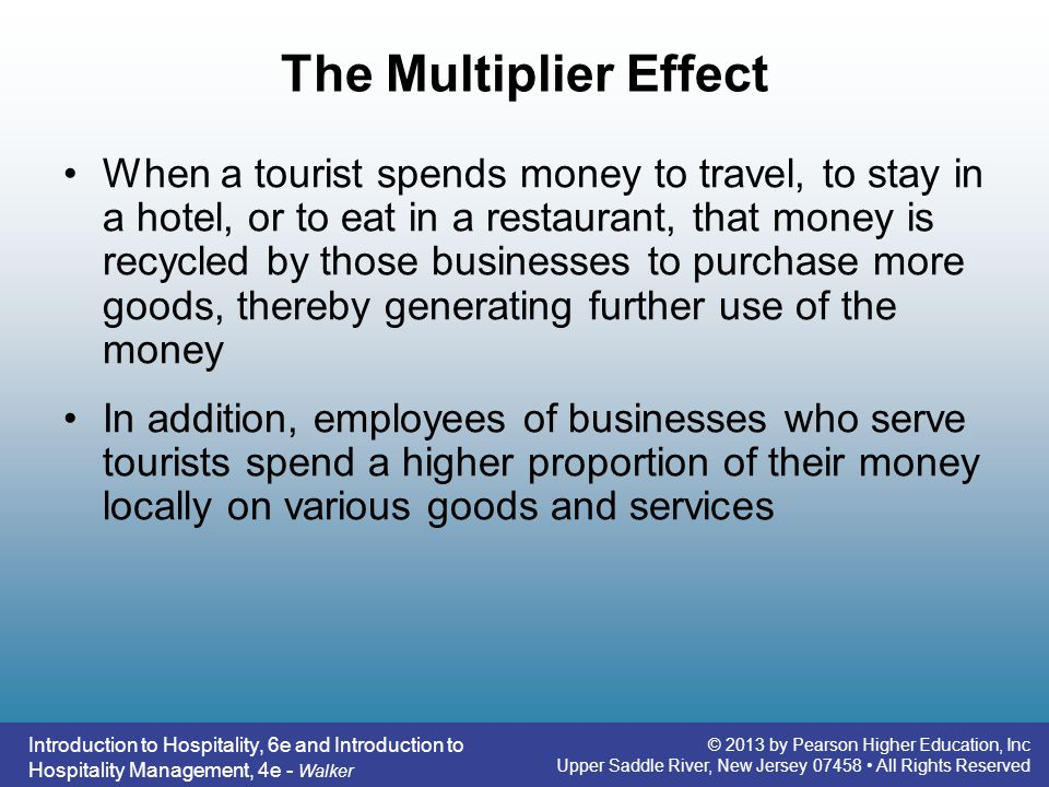 Introduction to Hospitality, 6e - ppt video online download