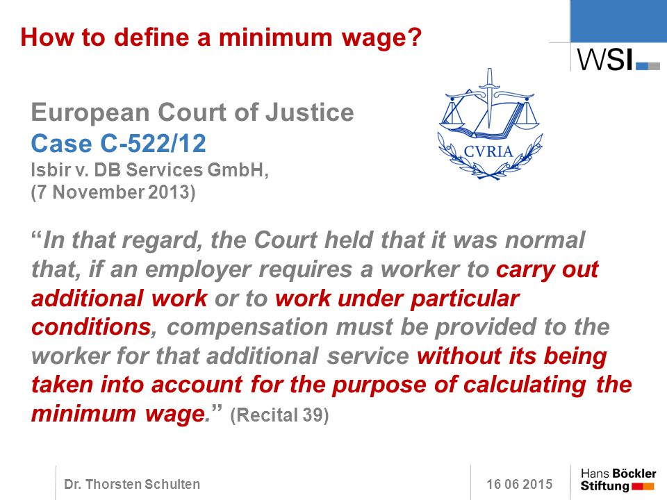 Minimum Gmbh how to define a minimum wage experiences from germany and other