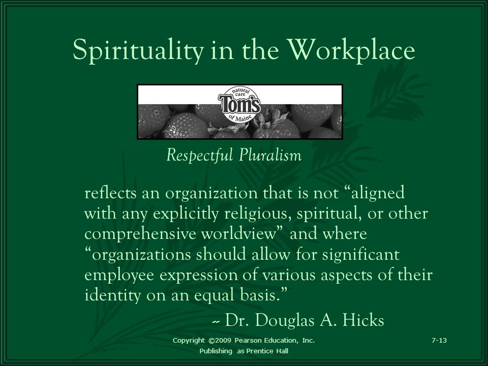 """1 how should management accommodate a variety of conflicting spiritual perspectives in the workplace Week 9 discussion 1: """"talent management research  how should management accommodate a variety of conflicting spiritual perspectives in the workplace."""