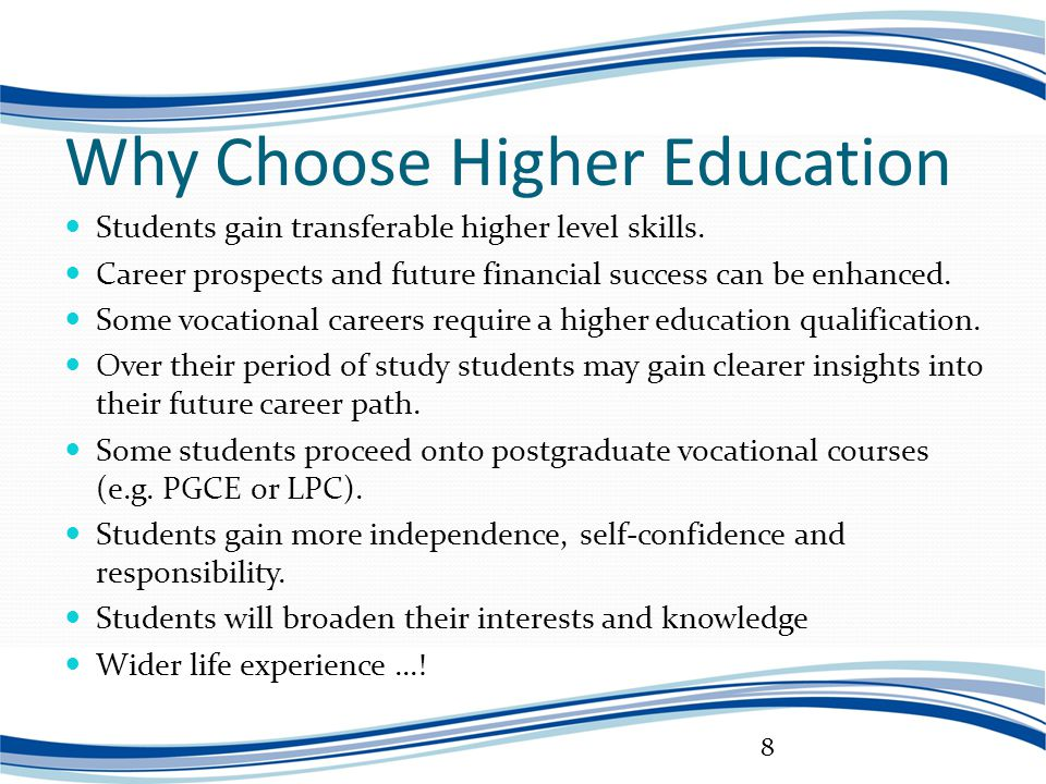 Benefits of Higher Education: Graduate Salaries and More ...