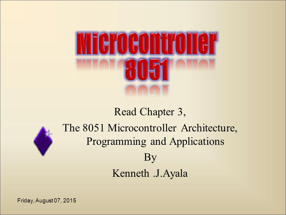 The 8051 Microcontroller Architecture Programming And Applications