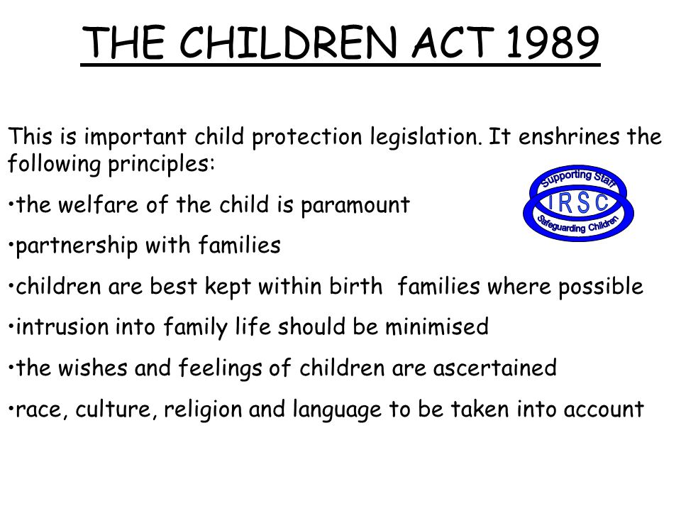 safeguarding the welfare or children and Safeguarding children (child protection and welfare guidance) the code of ethics and good practice for children's sport (hereafter referred to as the code) is for the benefit of everyone involved in children's sport (children, parents / guardians, sports leaders', etc.