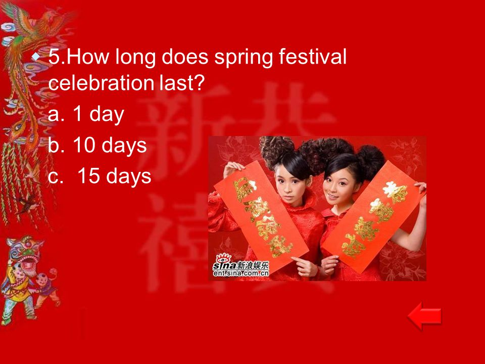 Chinese new year the spring festival ppt video online download for How long does a spring mattress last