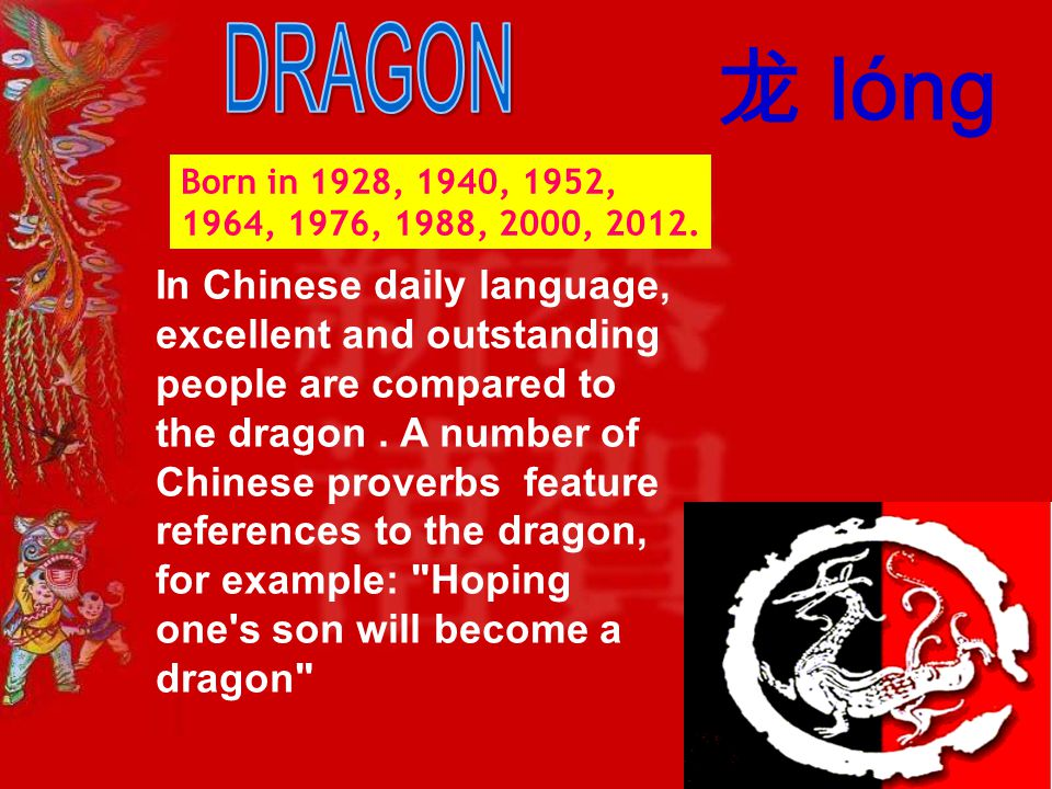 born in 1928 1940 1952 1964 1976 - Chinese New Year 1964