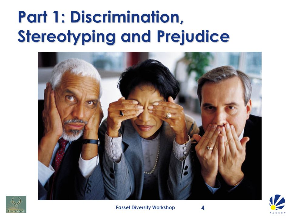 how is discrimination different from prejudice and stereotyping Read and learn for free about the following article: examples of discrimination in society today.