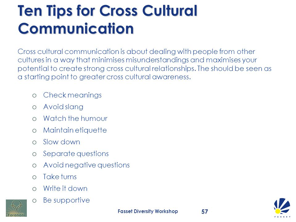 avoiding misunderstanding in cross cultural communication Avoiding misunderstanding in cross-cultural communication 1893 words jul 1st, 2010 8 pages avoiding cross-cultural miscommunication abstract international business has been developing fast in the globalization.