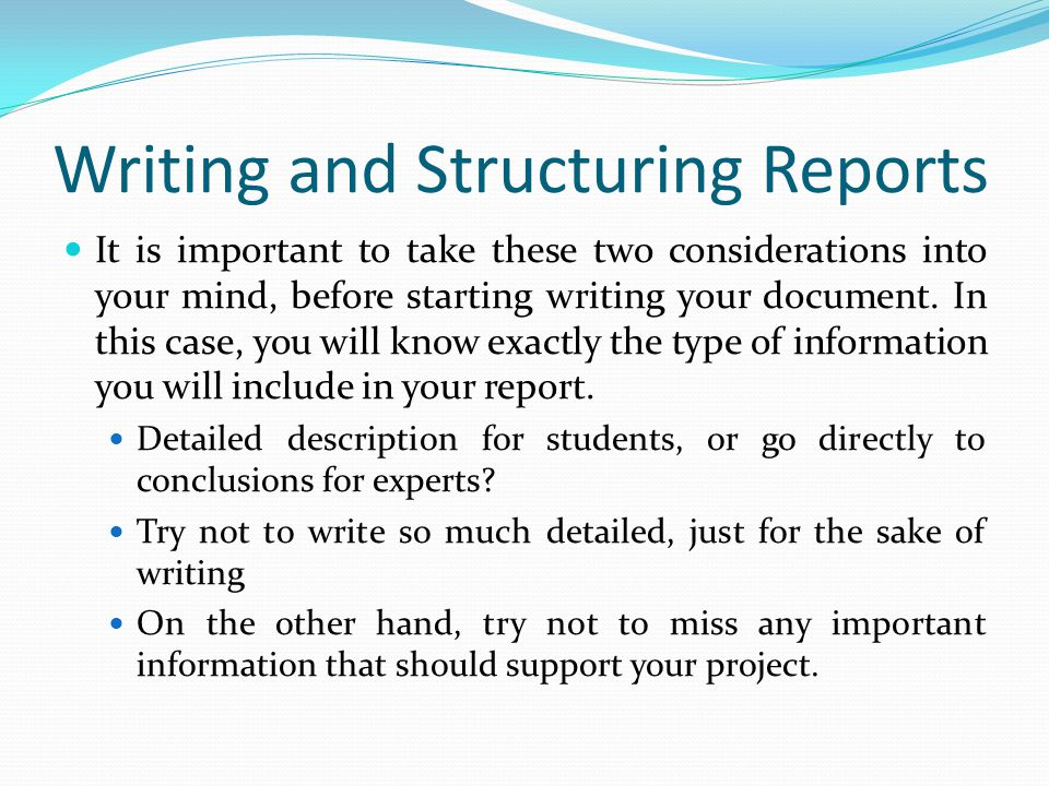 lecture 3 writing the project documentation part i ppt