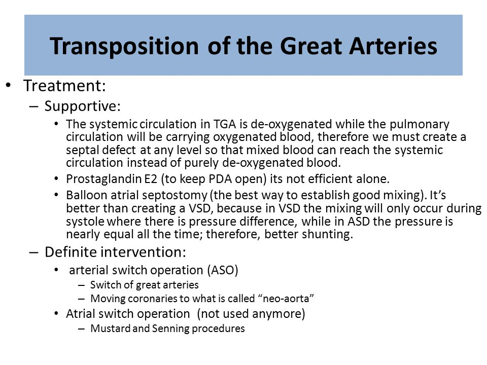 transposition of great arteries pdf