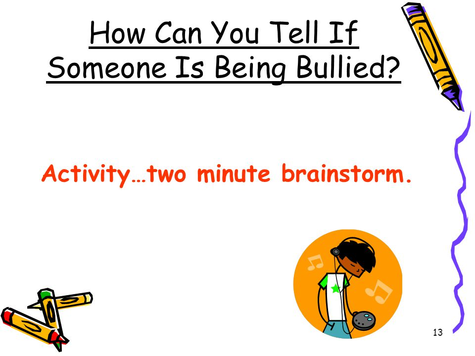 How Can You Tell If Someone Is Being Bullied