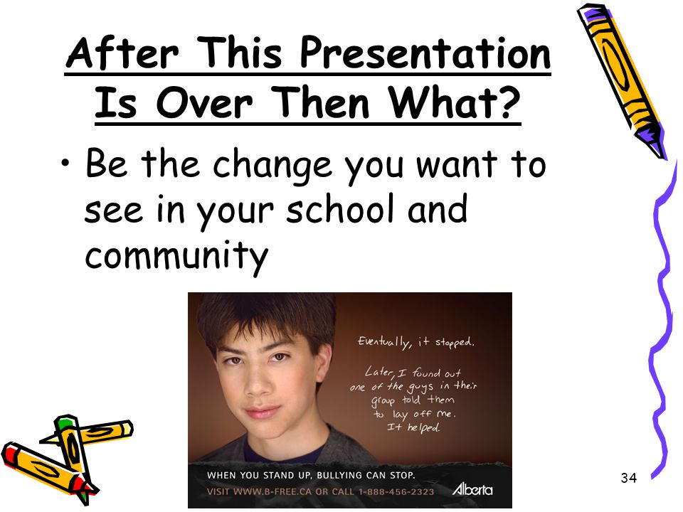 After This Presentation Is Over Then What
