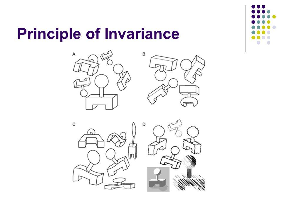Principle of Invariance