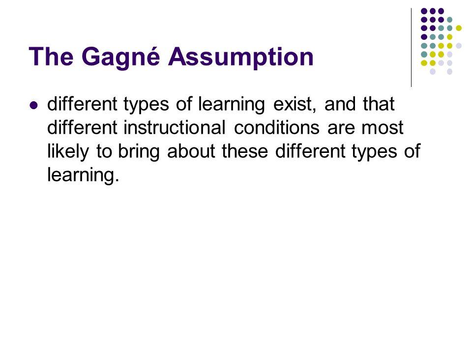The Gagné Assumption
