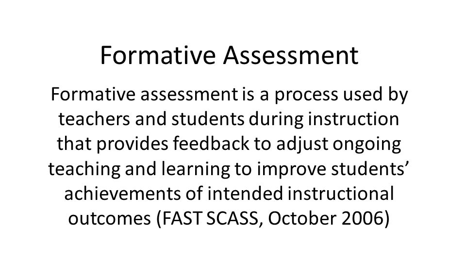 Best Formative Assessment Images On what Is A