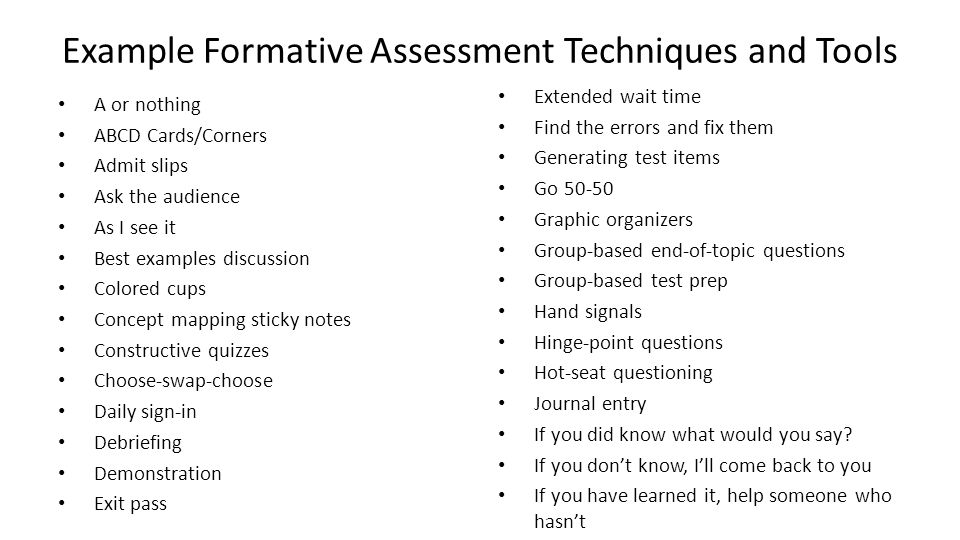 Common Core Institute #3 Formative Assessment - Ppt Download
