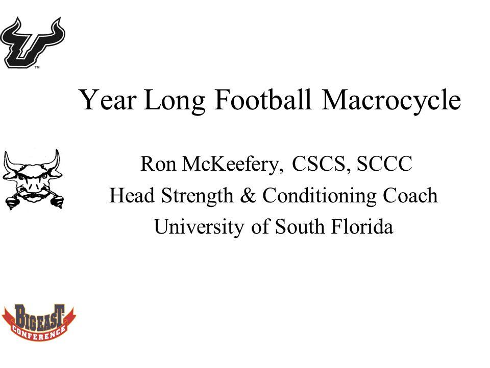 1 Year Long Football Macrocycle