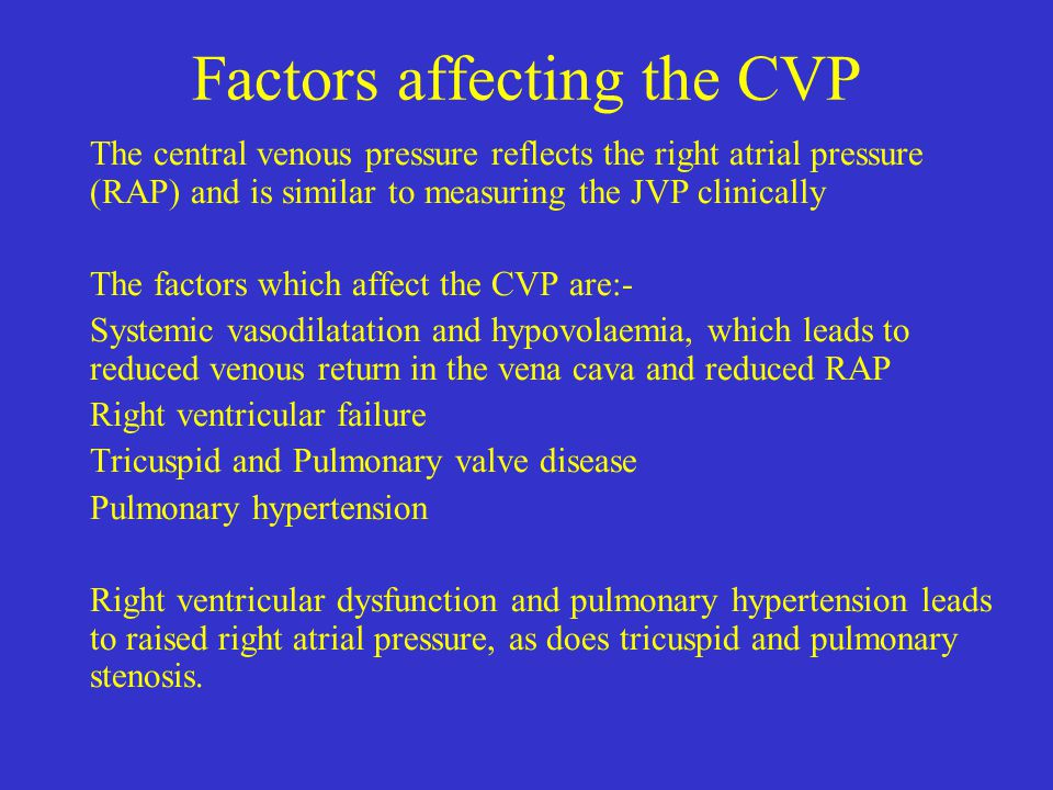 Central Venous Pressure And Central Lines Ppt Video