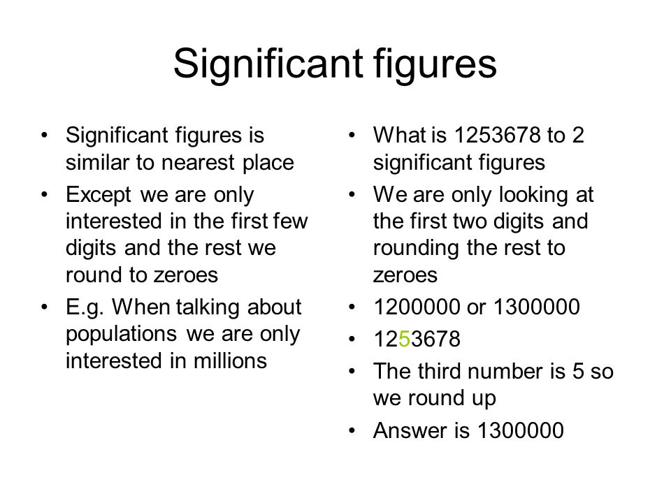 decimal and significant figures Significant figures calculator, significant figures rules, standard form or scientific notation of numbers.