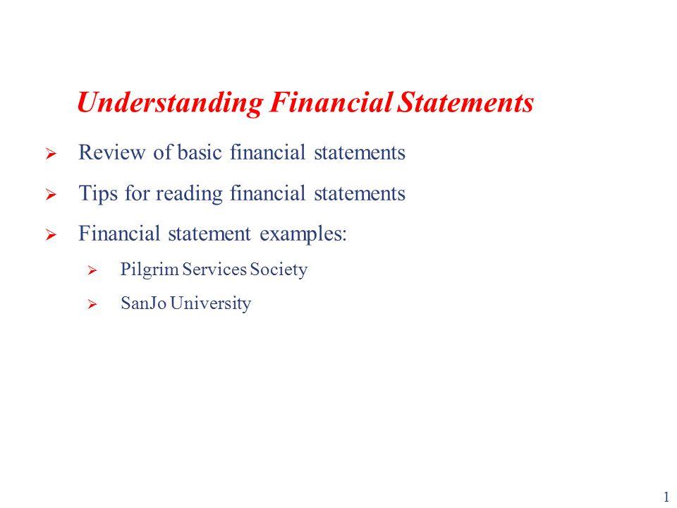 Understanding Financial Statements ppt video online download – Basic Financial Statement Template