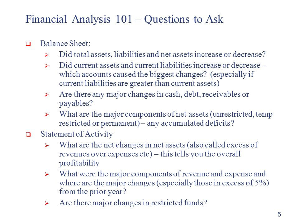 financial analysts questions There are 20 questions in this test from the financial statement analysis section of the cfa level 1 syllabus you will get 30 minutes to complete the test.