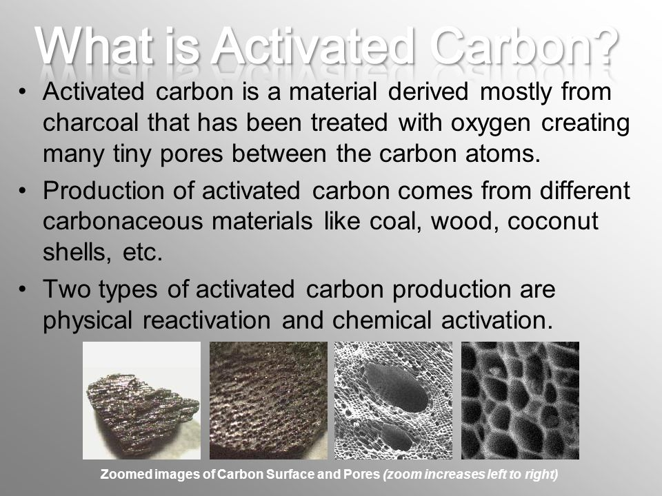 Activated Carbon Chemical Properties