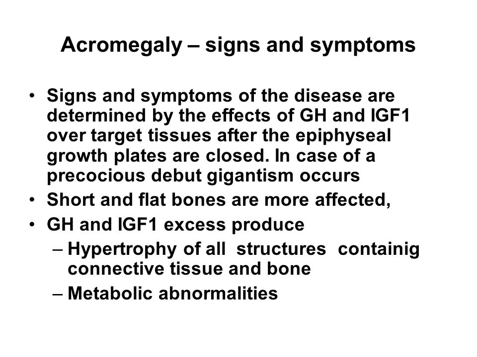 signs and symptoms of gigantism essay