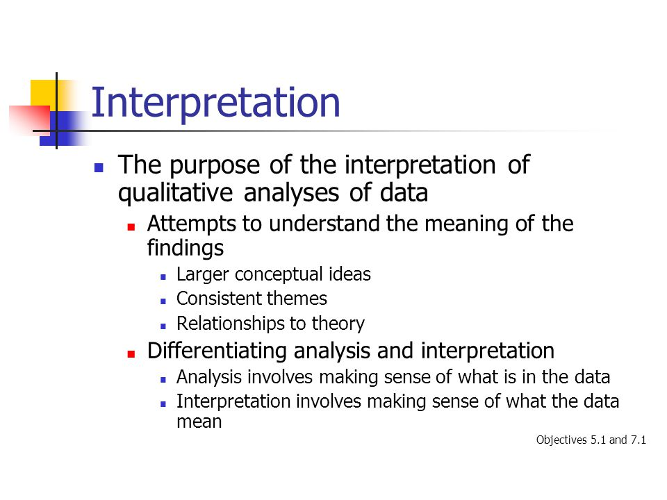 how to learn data analysis and interpretation