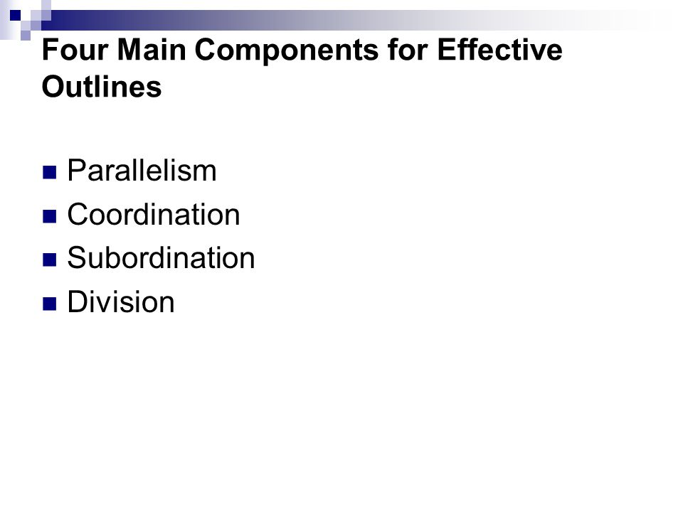 components of an effective essay