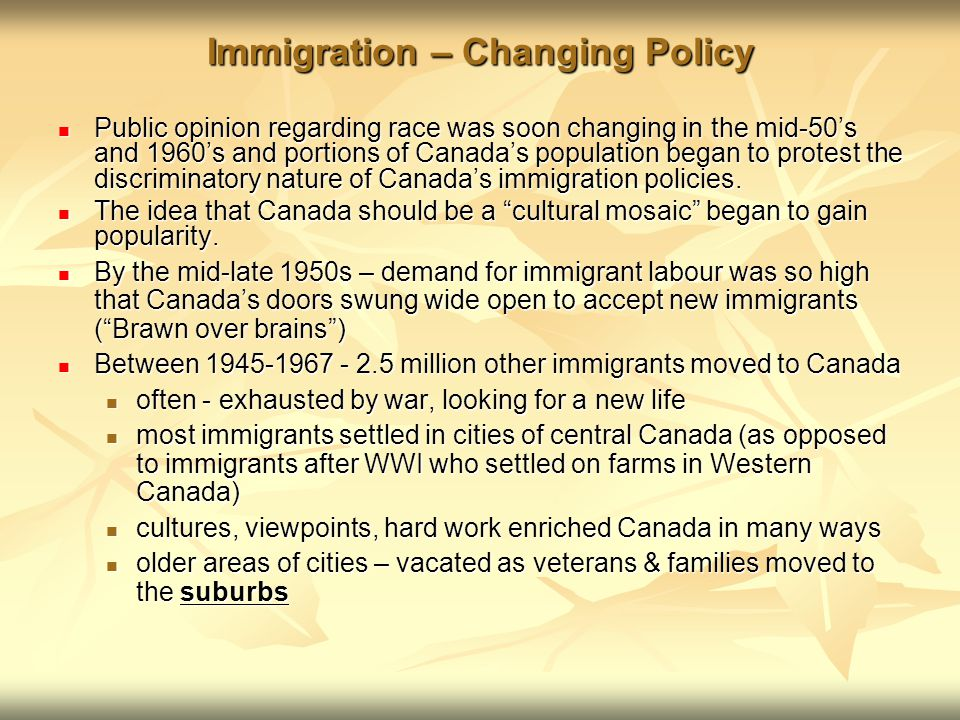 Brains Over Brawn Quotes: Canada To 1919: Immigration And Racism