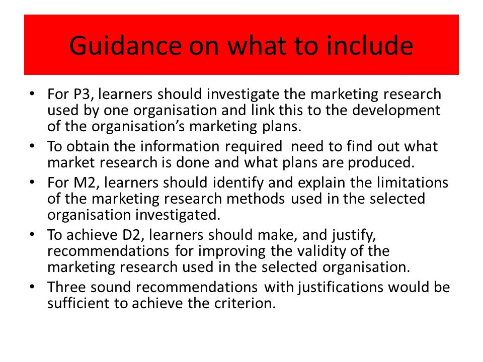 p3 describe how a selected organisation uses marketing research to contribute to the development of  This task will address p3, p4, m2 and d2 of the unitp3describe how a selected organisation uses marketing research to contribute to the development of its marketing plansp4use marketing.