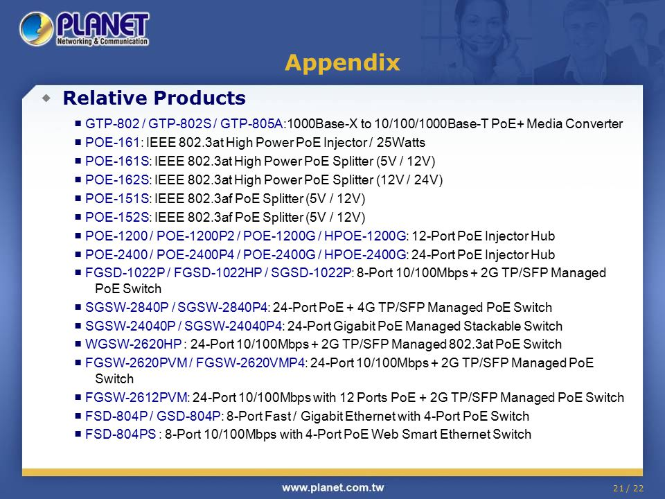 Appendix ◆ Relative Products