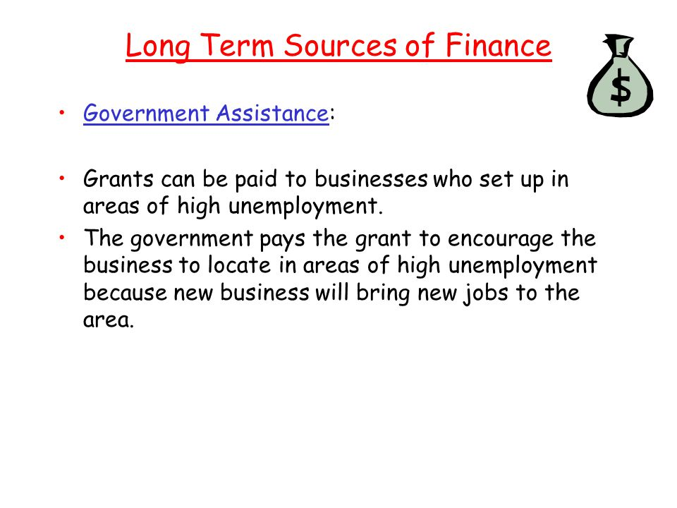 Long Term Sources of Finance