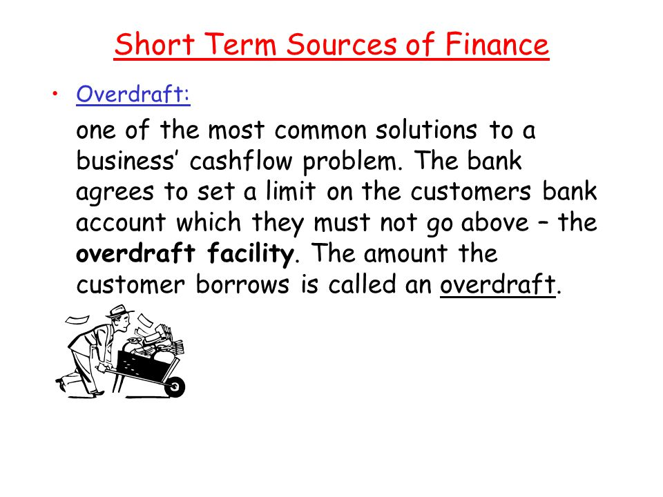 Short Term Sources of Finance