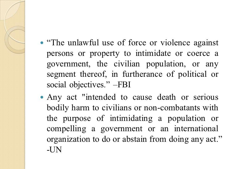 causes of international terrorism pdf