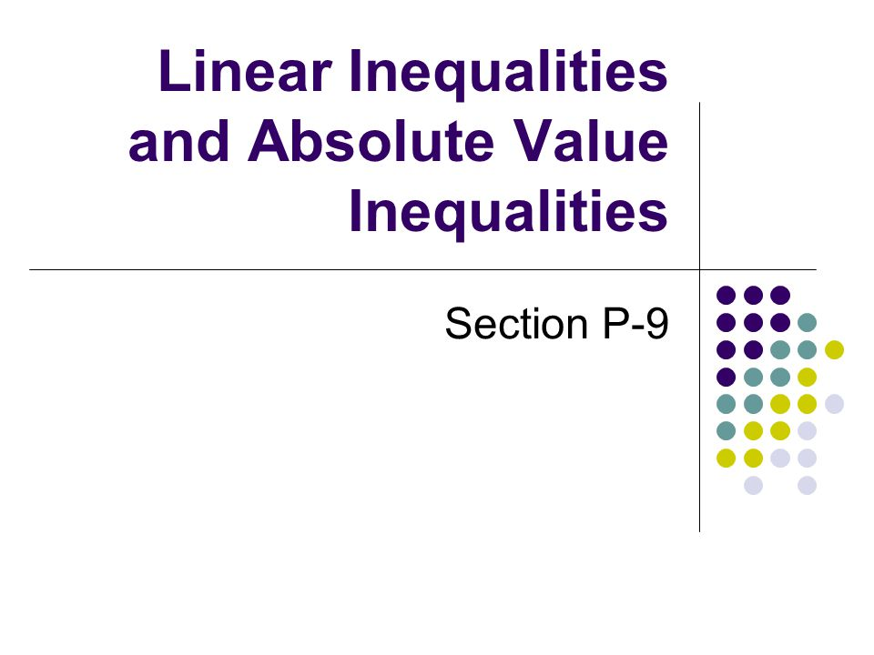 how to solve absolute value inequalities