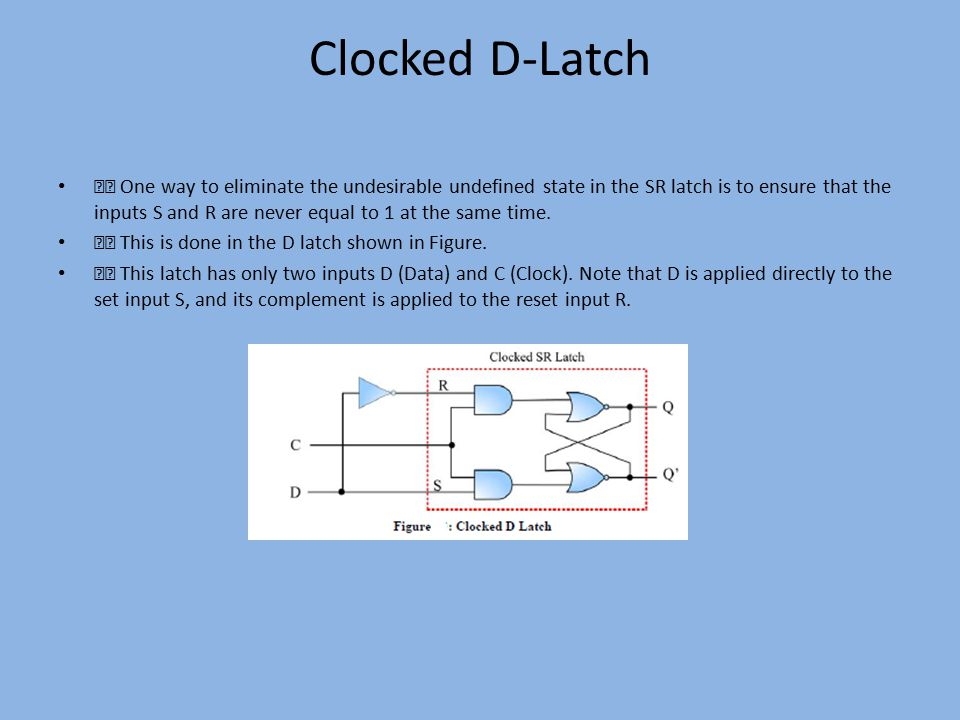 Clocked D-Latch