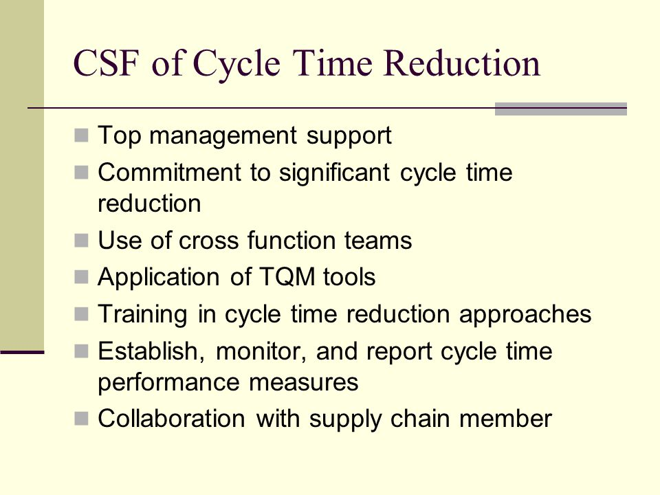 cycle time reduction Mihir r prajapati et al cycle time reduction using lean principles and techniques: a review.