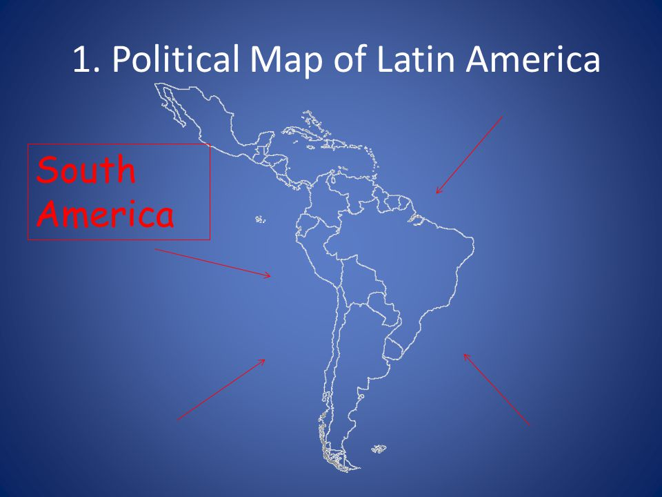 1 Political Map of Latin America ppt video online download