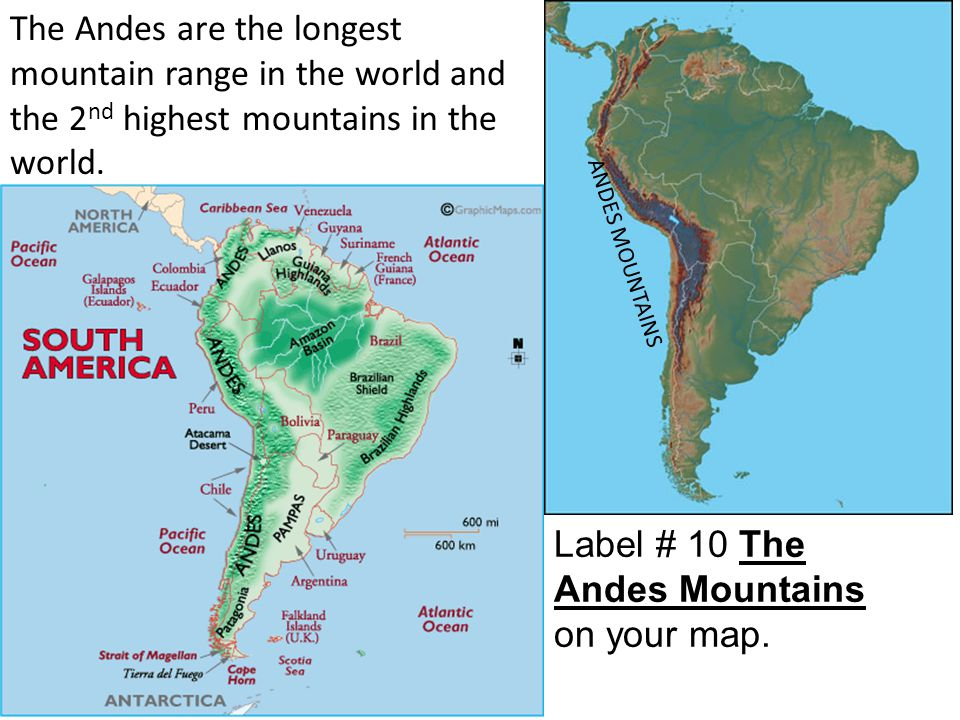 Latin America Physical Geography  ppt download