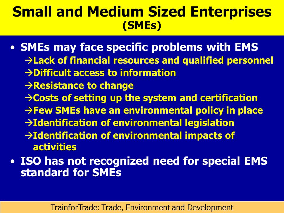 small and medium sized enterprises smes Focused on workplace health promotion and occupational health and safety in  small and medium-sized enterprises (smes): n the workplace health promotion.