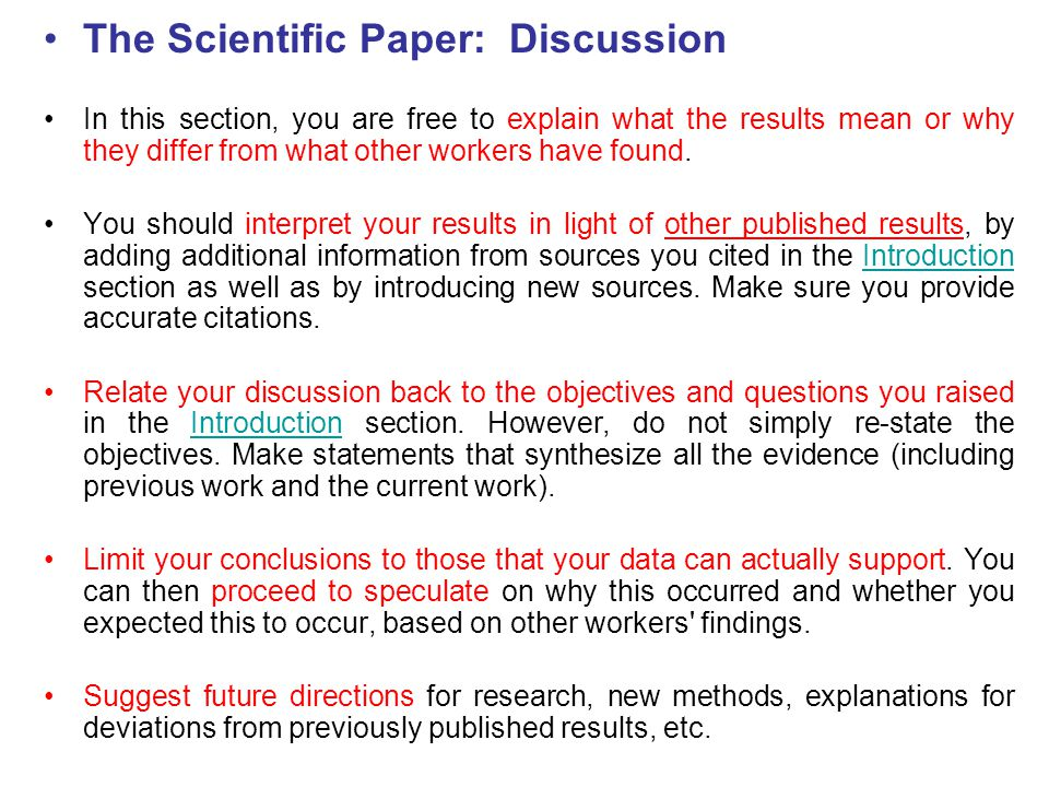 Academic Phrases for Writing Results & Discussion Sections of a Research Paper