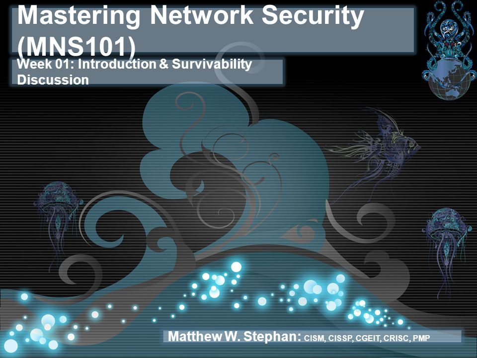Mastering Network Security (MNS101)