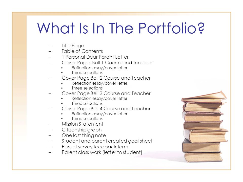 portfolio essay Introduction write an introduction to the assessor (sometimes this is the last thing you write, although it is the first thing the assessor will read.