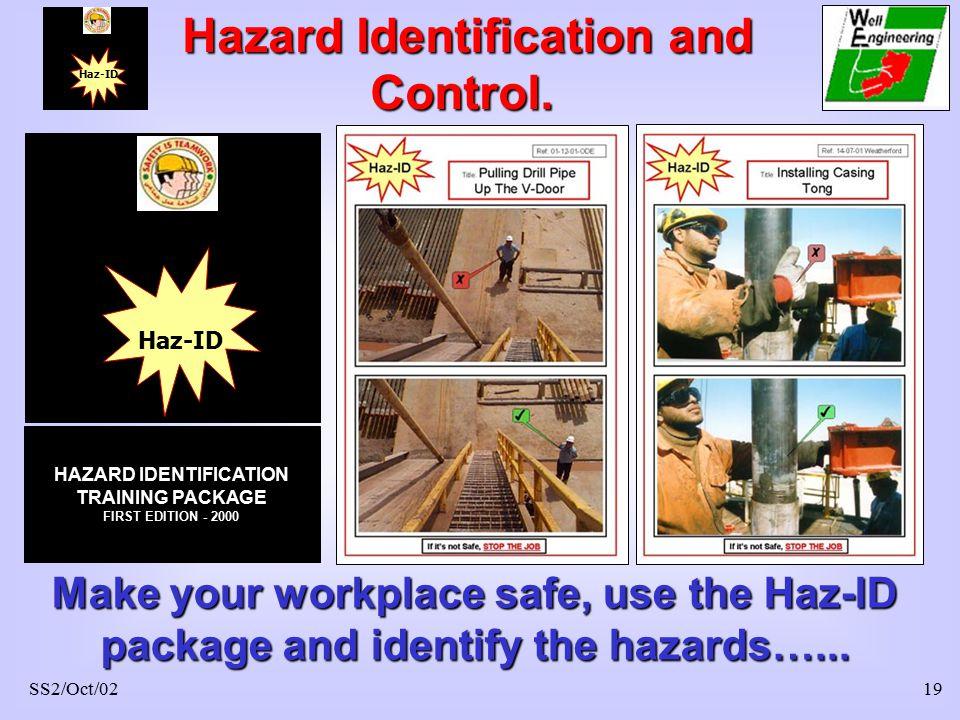 hazard identification at work place