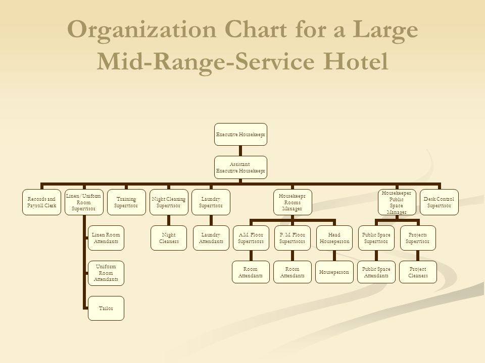 Organizational chart of housekeeping department college paper organizational chart of housekeeping department thecheapjerseys Images