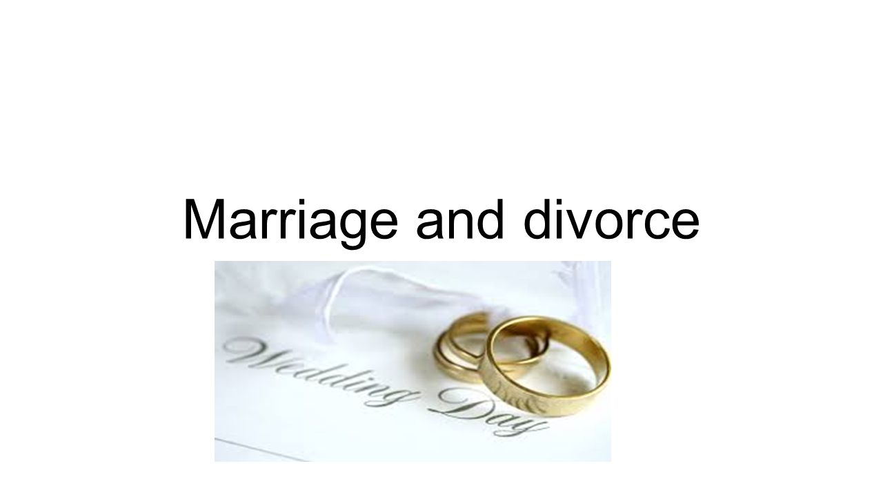 marriage divorce and remarriage While this study is entitled divorce and remarriage, we will be discussing much more than this this is easily the longest study i have ever written and due to the conflicting opinions on this issue, along with the serious ramifications for being wrong, i saw a need to not just limit my study to divorce & remarriage alone.